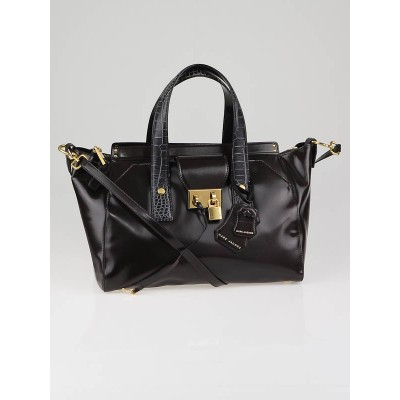 Marc Jacobs Anthracite Leather MJ Tote Bag
