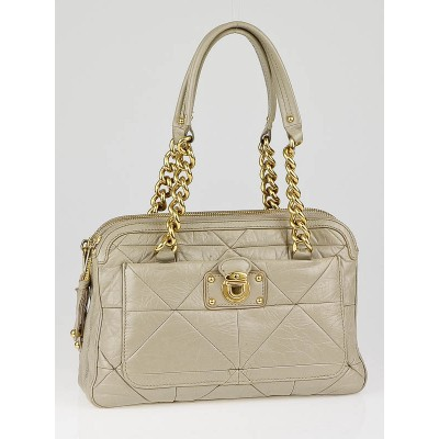 Marc Jacobs Sand Patchwork Leather Ines Bag