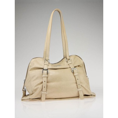 Prada Nude Leather New Look Medium Shopping Tote Bag