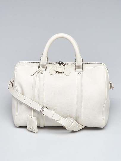 Louis Vuitton White Calf Leather Sofia Coppola SC PM Bag