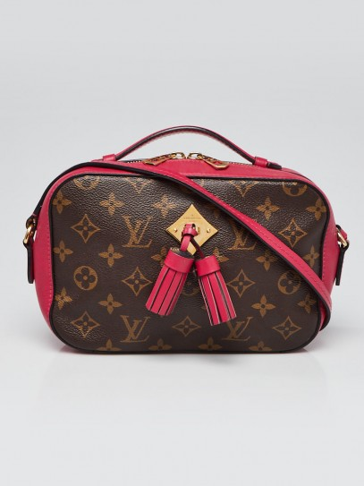 Louis Vuitton Freesia Monogram Canvas Saintonge Crossbody Bag