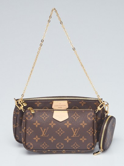 Louis Vuitton Monogram Canvas Multi-Pochette Accessories Bag w/o Canvas Strap