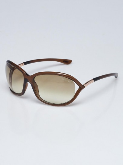 Tom Ford Brown Frame Tinted Jennifer Sunglasses-TF8