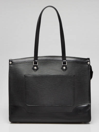 Louis Vuitton Black Epi Leather Madeleine GM Bag