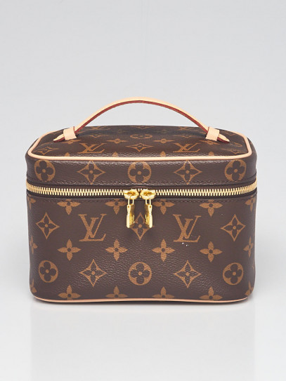 Louis Vuitton Monogram Canvas Nice Mini Vanity Case