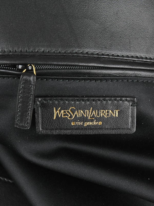 Yves Saint Laurent Grey Flannel Large Metropolis Tribute Bag ...