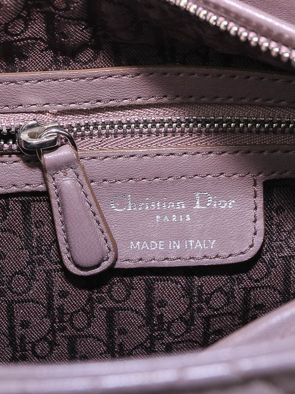 christian dior grey cannage quilted lambskin leather medium lady dior bag yoogi 39 s closet. Black Bedroom Furniture Sets. Home Design Ideas
