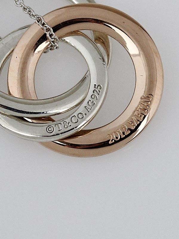 Tiffany & Co. Sterling Silver and Rubedo Metal ...