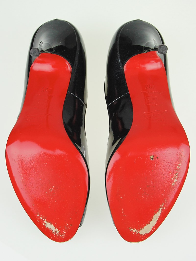 size 40 18417 99d26 Christian Louboutin Red Bottom Heels Unblocked Shoes ...