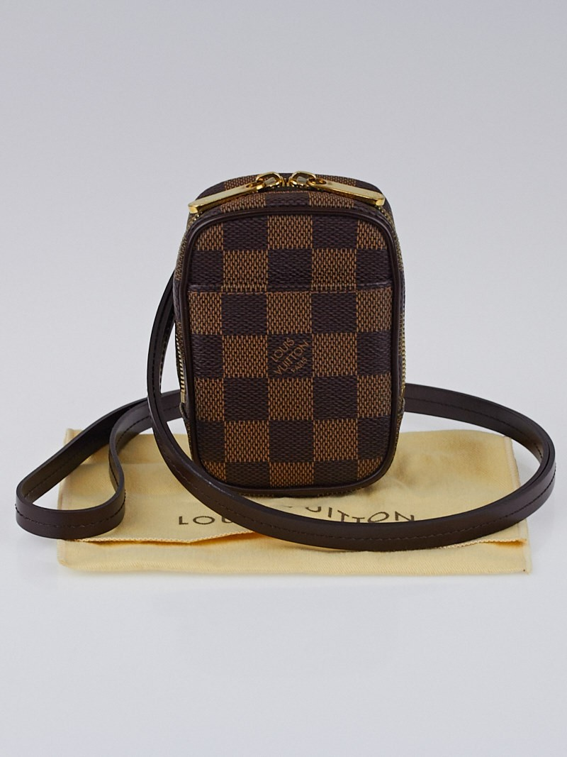 louis vuitton damier canvas etui okapi pm bag yoogi 39 s closet. Black Bedroom Furniture Sets. Home Design Ideas
