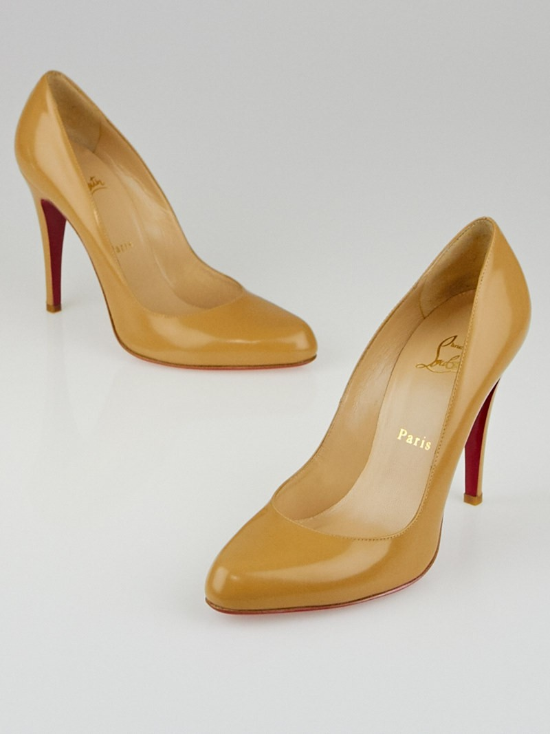 christian louboutin decollete jazz calf