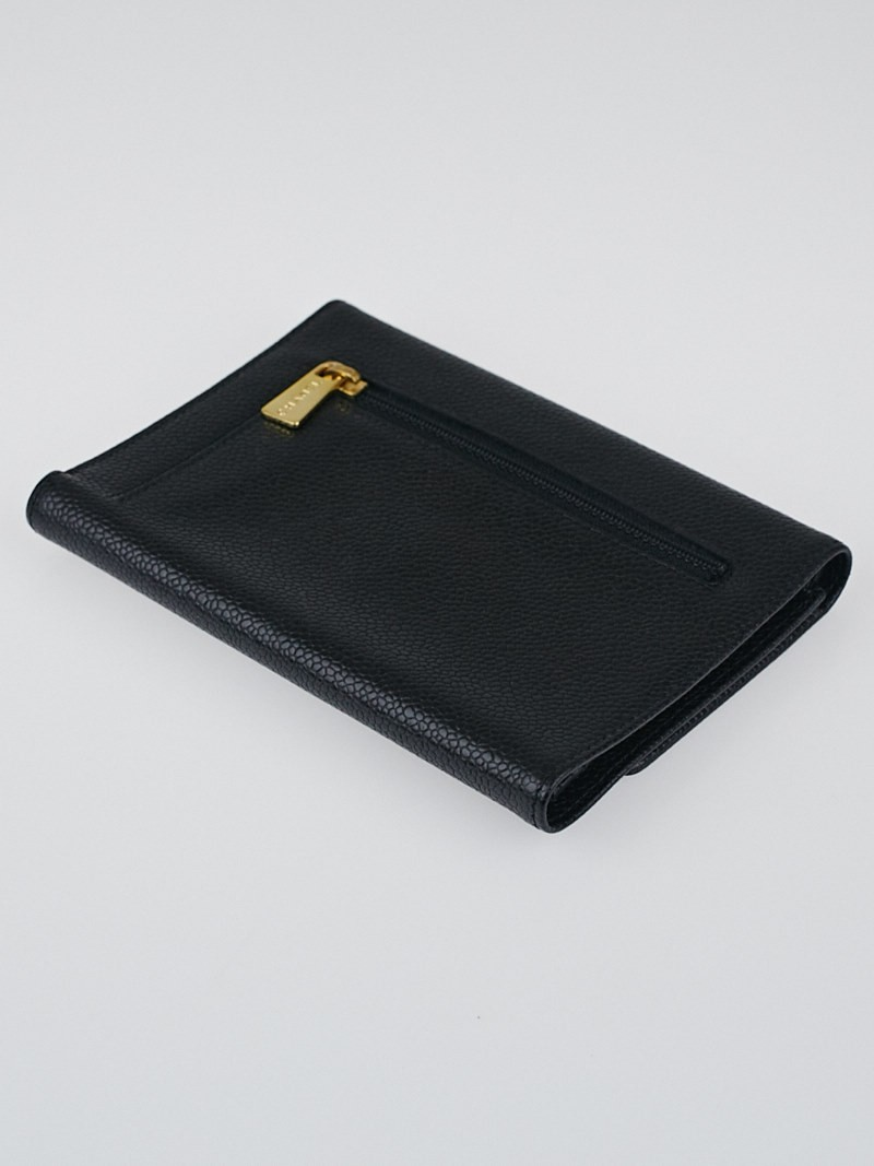 21baee338fa409 Chanel Black Caviar Leather Wallet | Stanford Center for Opportunity ...