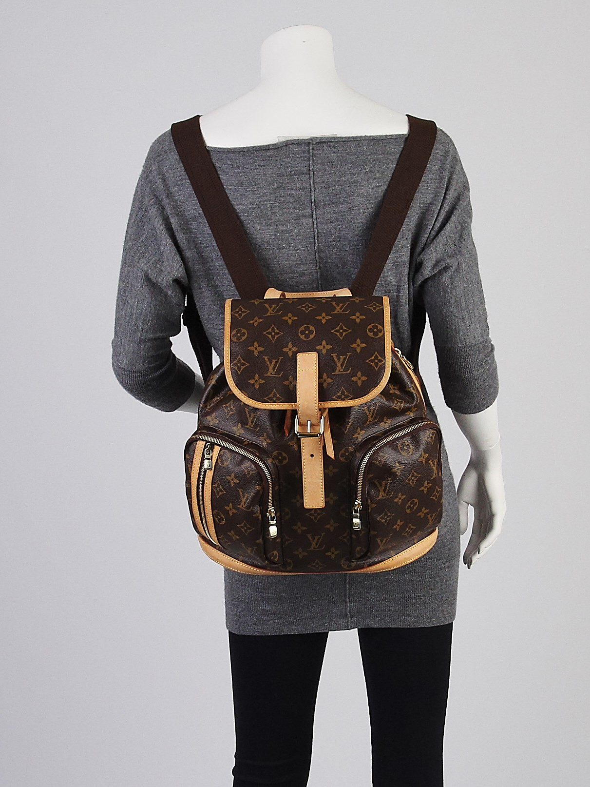 louis vuitton monogram canvas sac a dos bosphore backpack. Black Bedroom Furniture Sets. Home Design Ideas