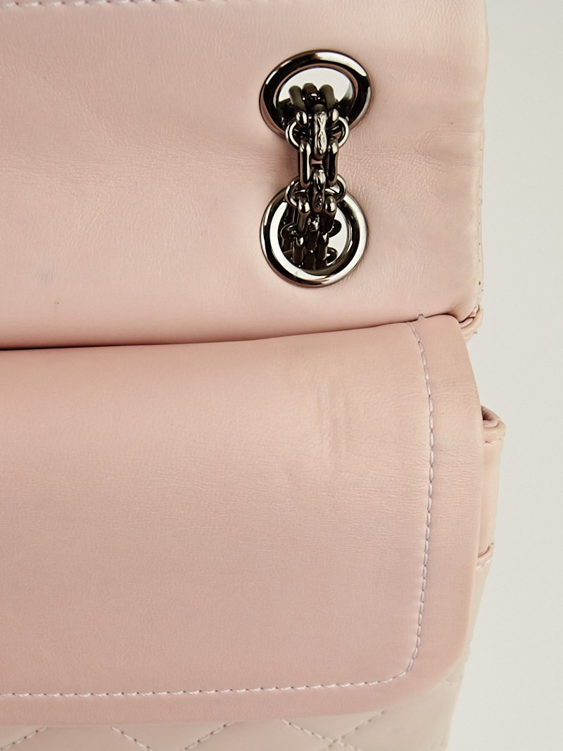 Chanel Light Pink Reissue 2 55 Quilted Classic Lambskin