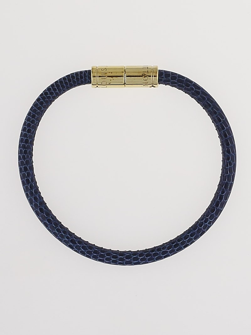 louis vuitton sapphire lizard keep it bracelet yoogi s