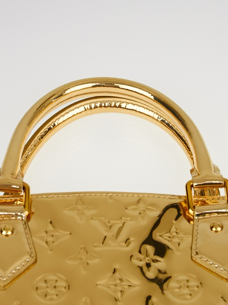 Louis vuitton limited edition gold monogram miroir sac for Miroir ultra design