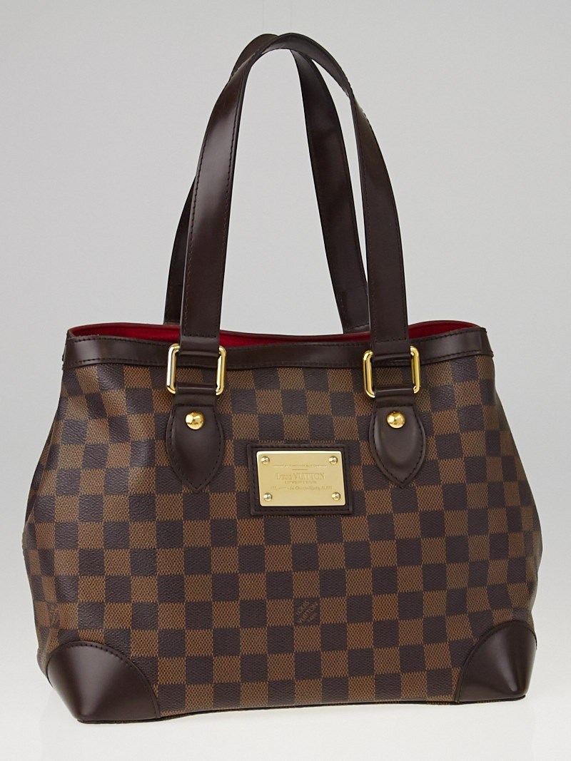 louis vuitton damier canvas hampstead pm bag yoogi 39 s closet. Black Bedroom Furniture Sets. Home Design Ideas