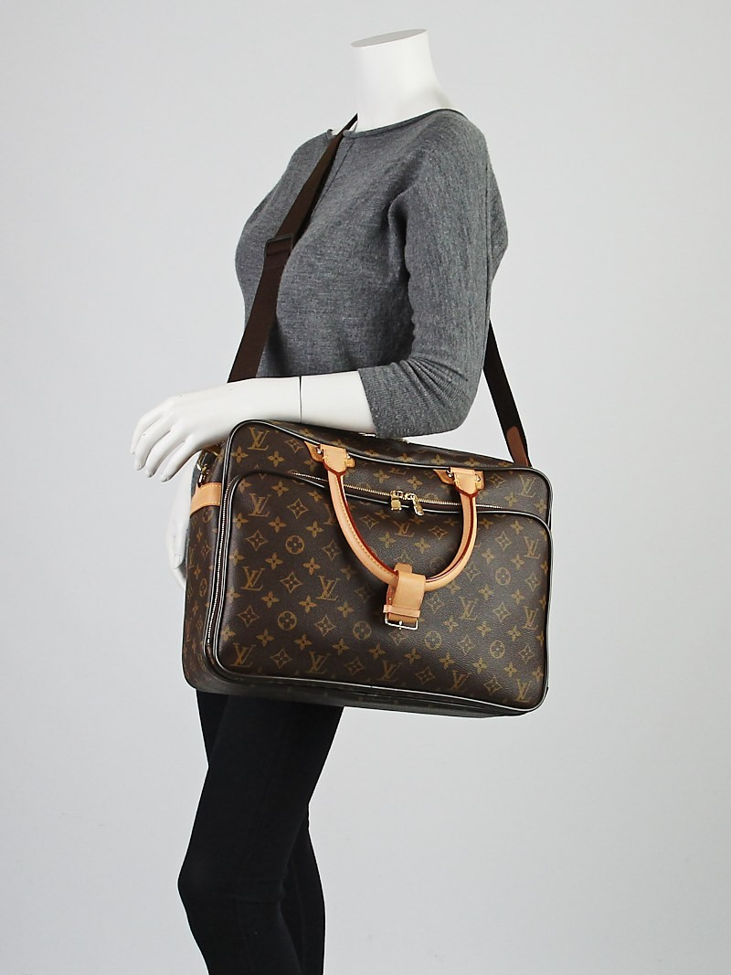 louis vuitton monogram canvas icare computer bag