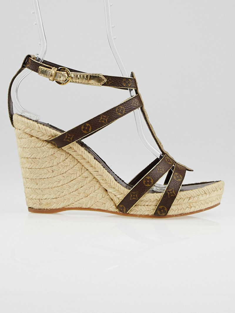 Open Toe Espadrille Wedge Open-toe Espadrille Wedge