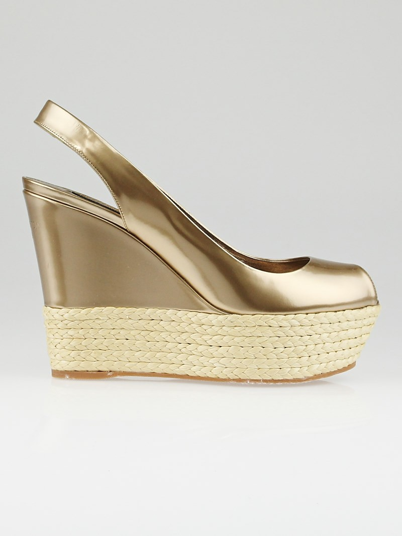 Open Toe Espadrille Wedge Espadrille Peep Toe Wedges