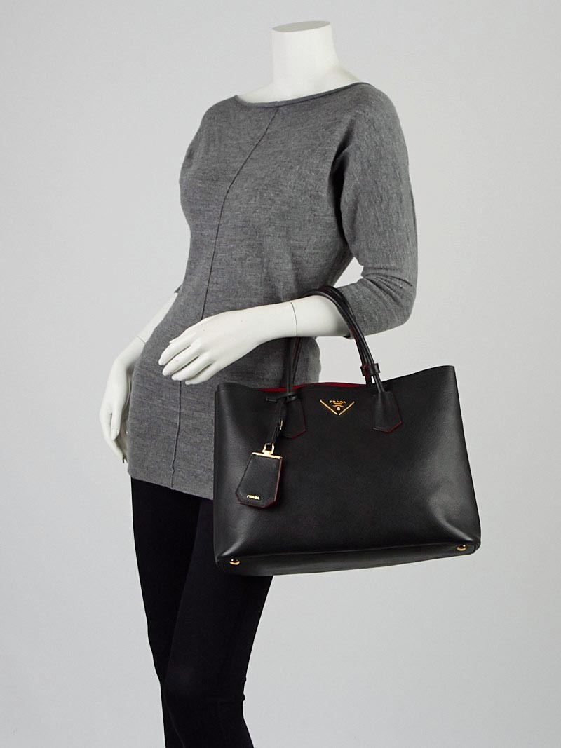 prada purses cheap - Prada Double Saffiano leather bag