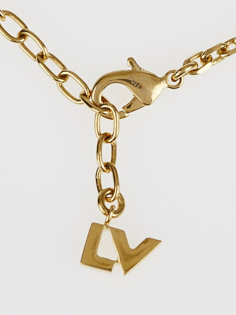 Louis vuitton multicolor crustal love letter timeless long for Louis vuitton letter necklace
