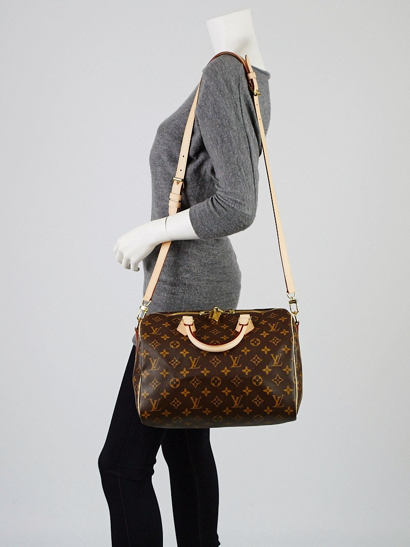 louis vuitton monogram canvas speedy bandouliere 30 bag. Black Bedroom Furniture Sets. Home Design Ideas