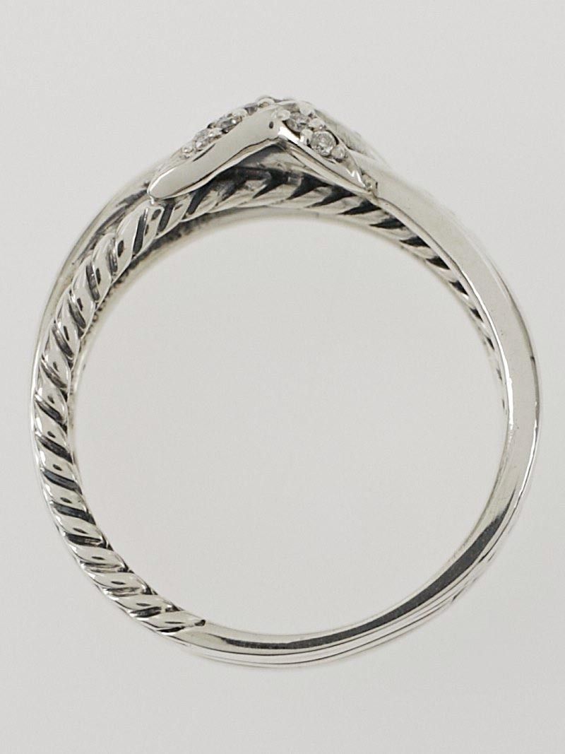 how to clean sterling silver rings with diamonds at home