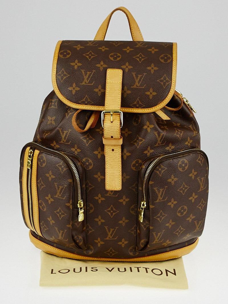 louis vuitton monogram canvas sac a dos bosphore backpack bag yoogi 39 s closet