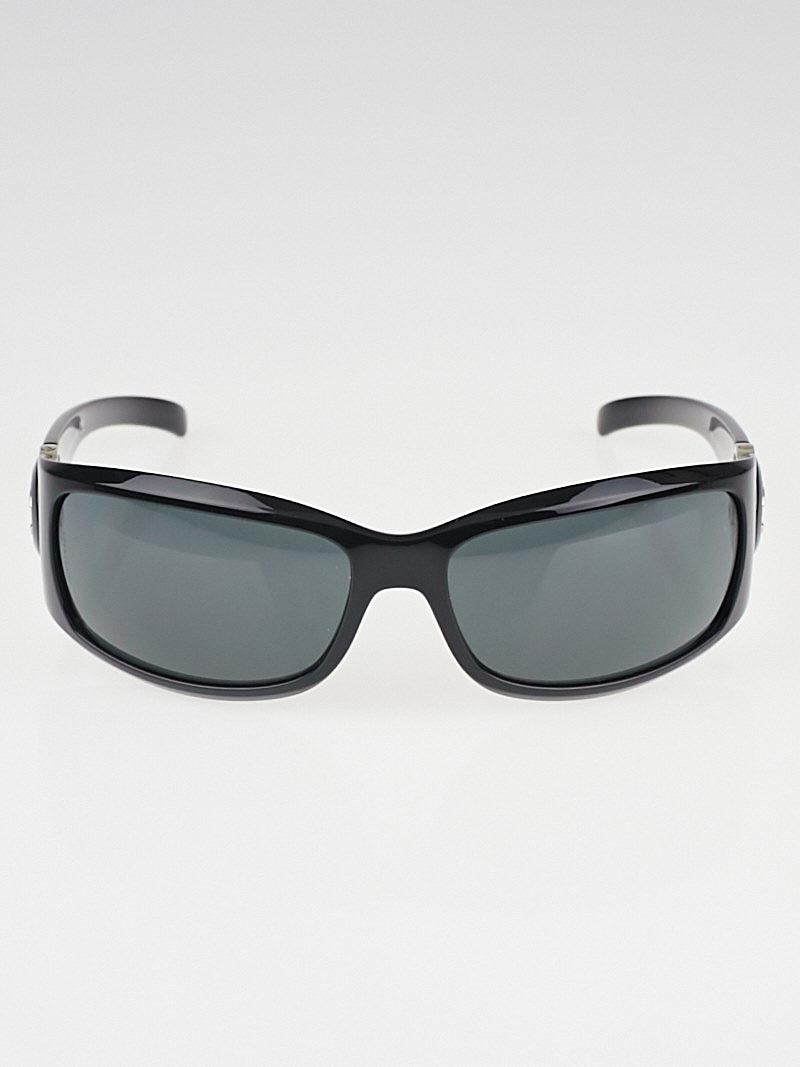 Chanel Big Frame Glasses : Chanel Black Frame CC Logo Sunglasses - 6030 - Yoogis Closet