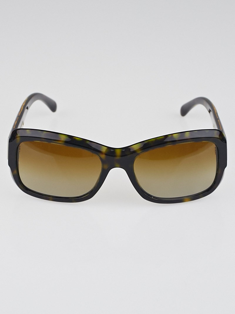 Chanel Glasses Frame Malaysia : Chanel Tortoise Shell Frame Mosaic Sunglasses - 5223 ...