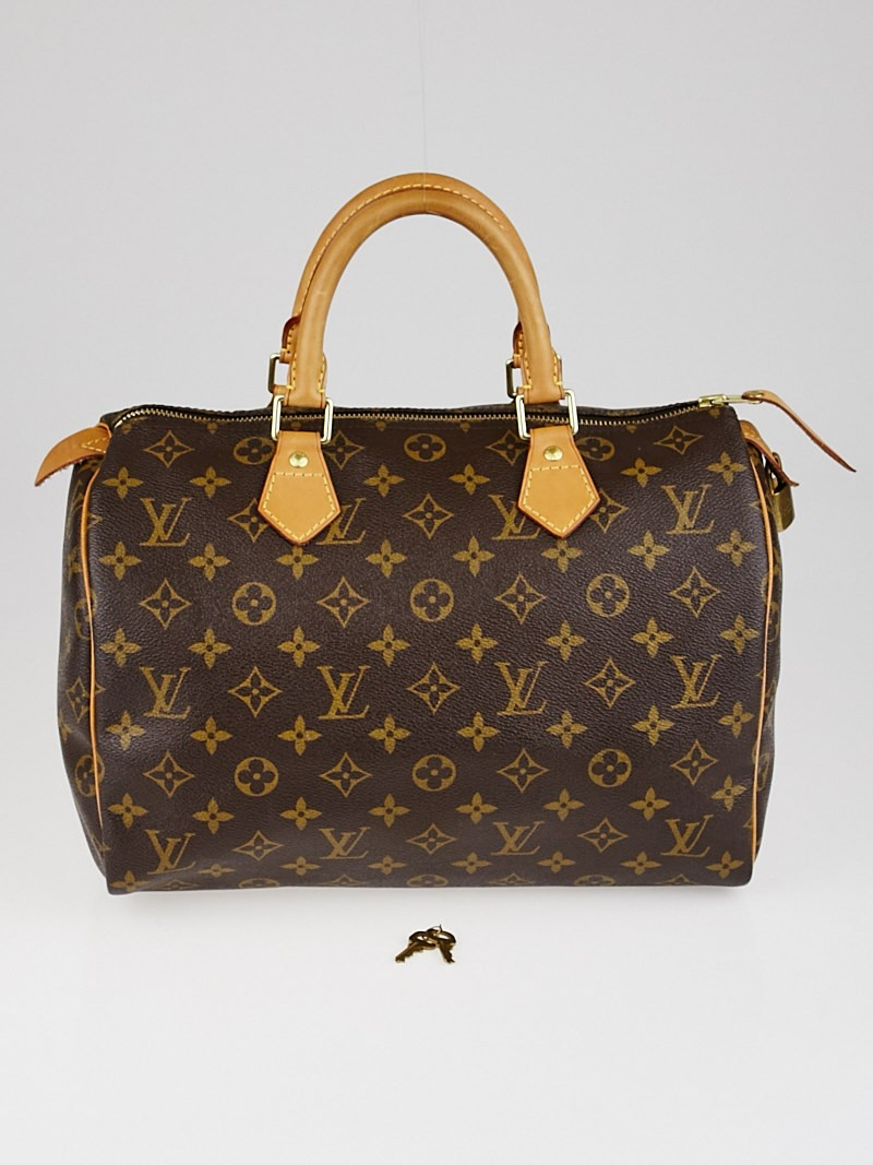 louis vuitton monogram canvas speedy 30 bag yoogis closet