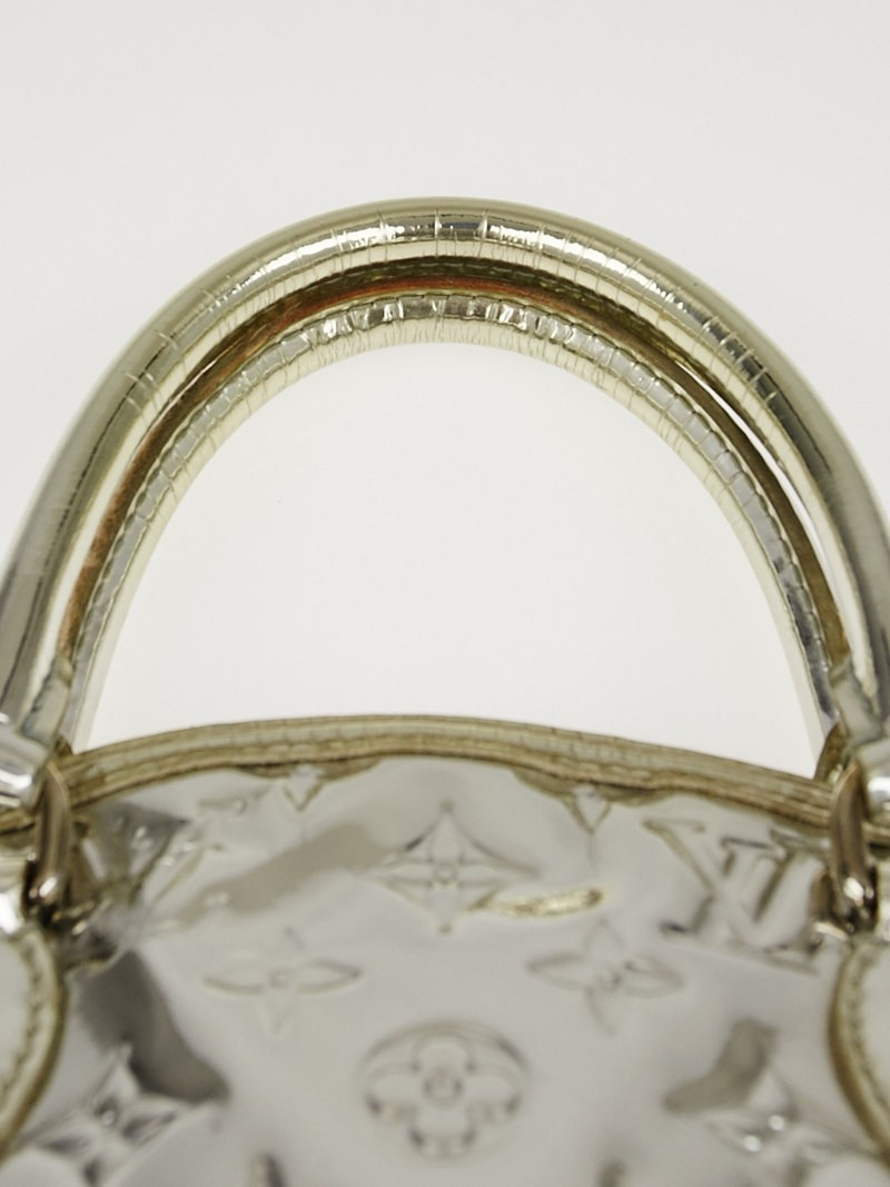 Louis vuitton limited edition silver monogram miroir for Miroir eclat silver