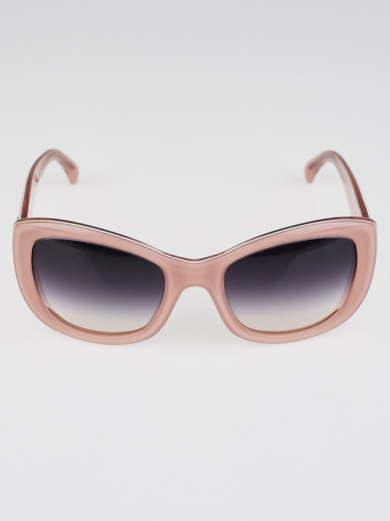 Chanel Big Frame Glasses : Chanel Pink Oversize Frame CC Logo Sunglasses-5239 - Yoogi ...