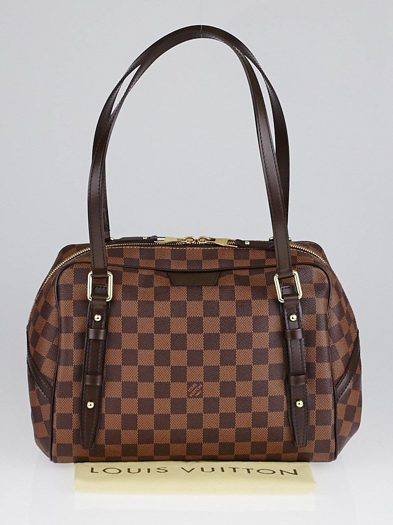Sac Louis Vuitton Rivington Gm : Louis vuitton damier canvas rivington gm bag yoogi s closet