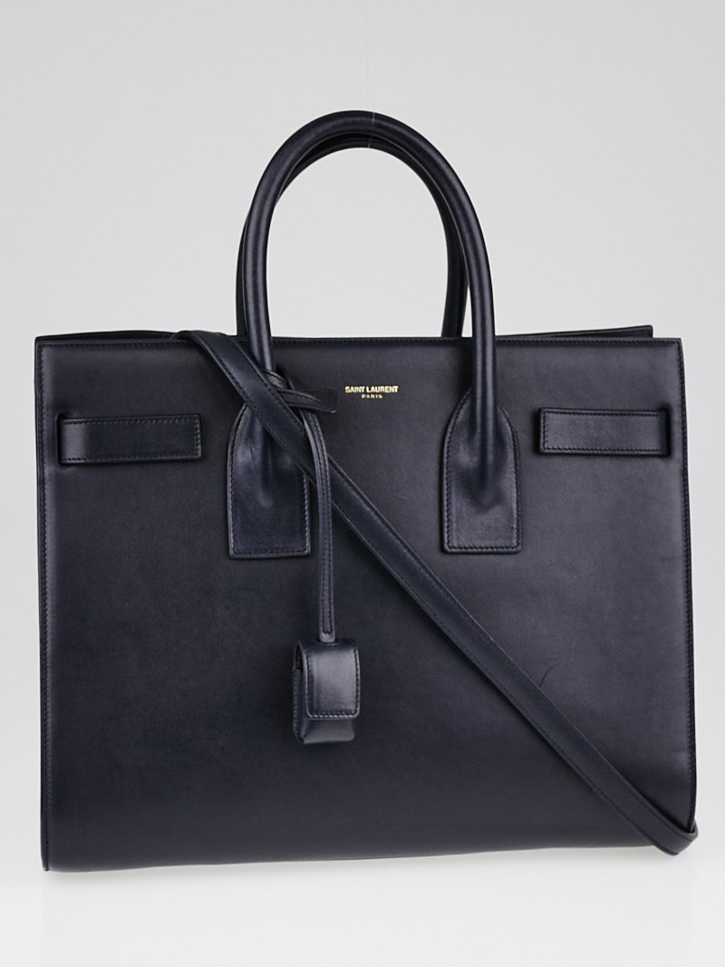 blue yves saint laurent bag
