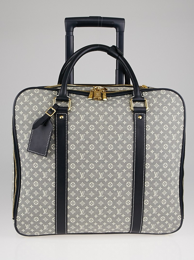 Louis Vuitton Encre Monogram Idylle Canvas Epopee Rolling Luggage ...