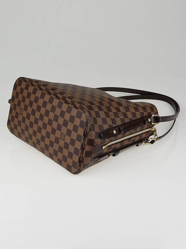Sac Louis Vuitton Rivington Gm : Louis vuitton damier canvas cabas rivington gm bag yoogi