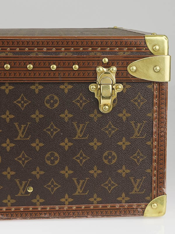 louis vuitton monogram canvas alzer anglais 80 hardsided suitcase yoogi 39 s closet. Black Bedroom Furniture Sets. Home Design Ideas