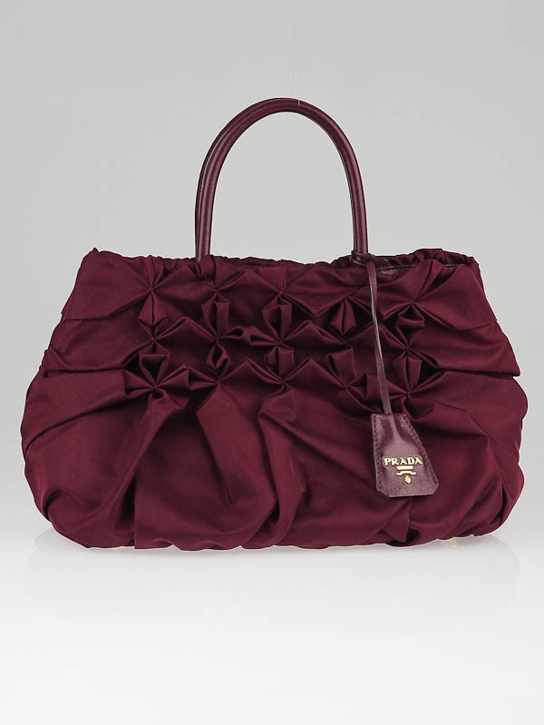 Pinch Pleated Tote Bag 82