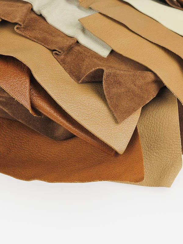 Yves Saint Laurent Tan/Brown Leather and Suede Large St. Tropez ...