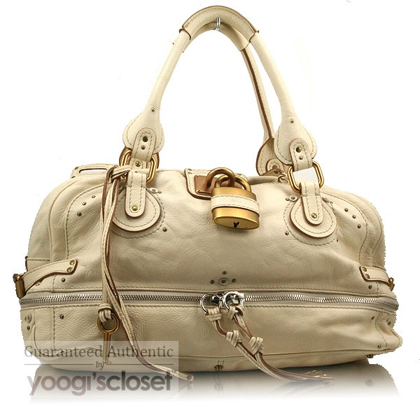 Chloe Handbags Replica Uk Ivory East West Paddington Large Zippy Satchel Bag Yoogi