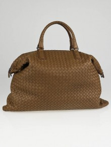 Bottega Veneta Chene Intrecciato Woven Nappa Leather Convertible Bag