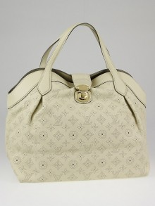 Louis Vuitton Lin Mahina Leather Cirrus MM Bag