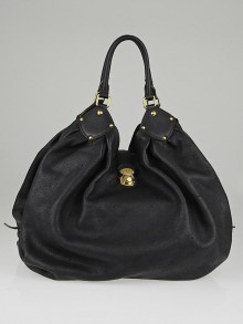 Louis Vuitton Black Monogram Mahina Leather XXL Bag