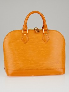 Louis Vuitton Mandarin Epi Leather Alma Bag