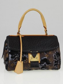 Louis Vuitton Limited Edition Fleur de Jais Carrousel Bag