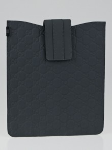 Gucci Grey Guccissima Rubber iPad Cover