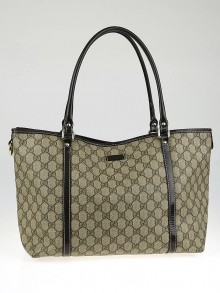 Gucci Beige/Ebony GG Coated Canvas Joy Medium Tote Bag