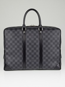 Louis Vuitton Damier Graphite Canvas Porte-Documents Voyage Bag